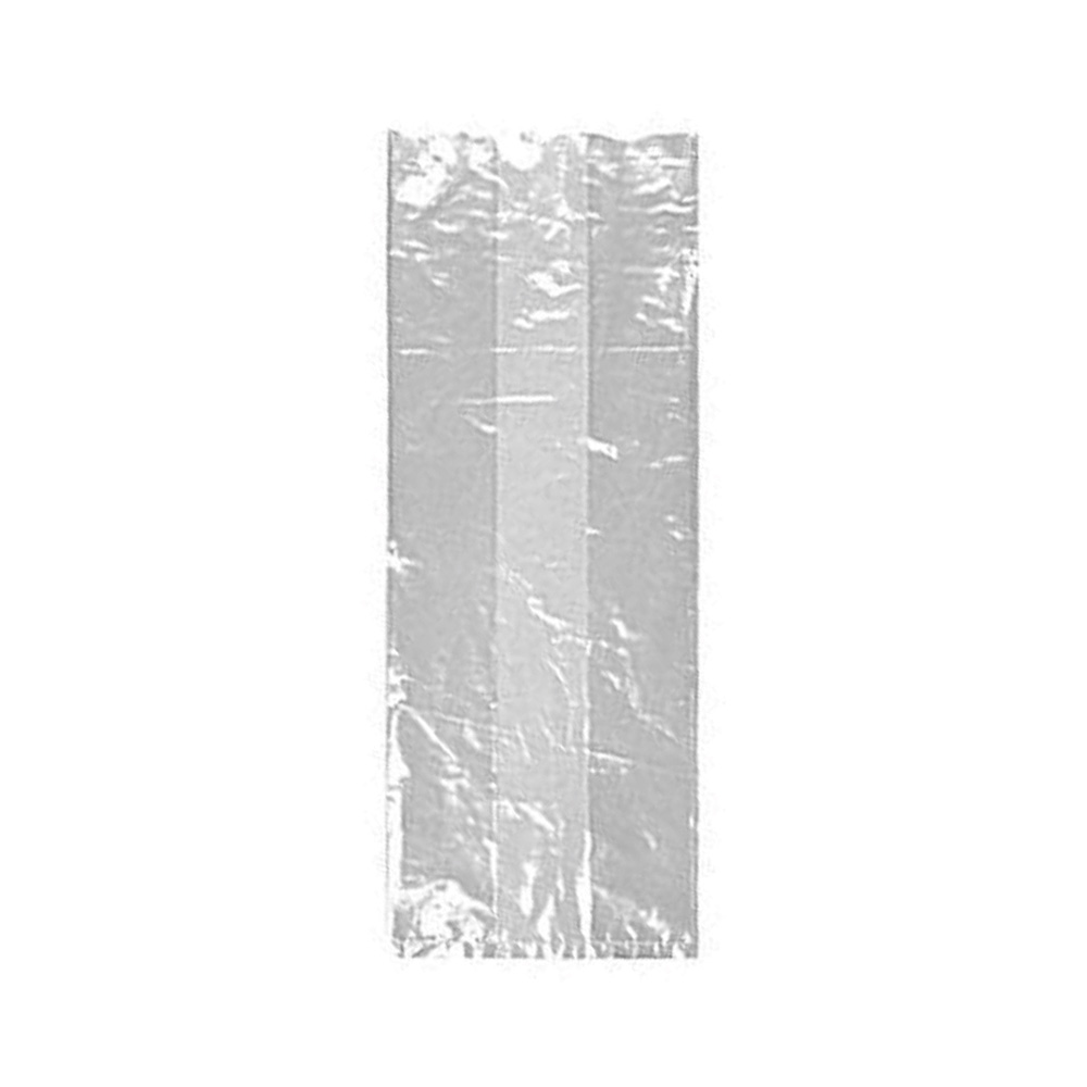 "Elkay Plastics Clear 6""x3""x15"" Linear Low Density Gusset Freezer Bag 6G063015"