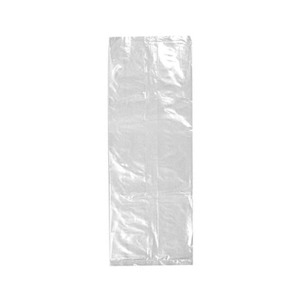 "Elkay Plastics Clear 10""x8""x24"" Poly Freezer Bag 10G108024"