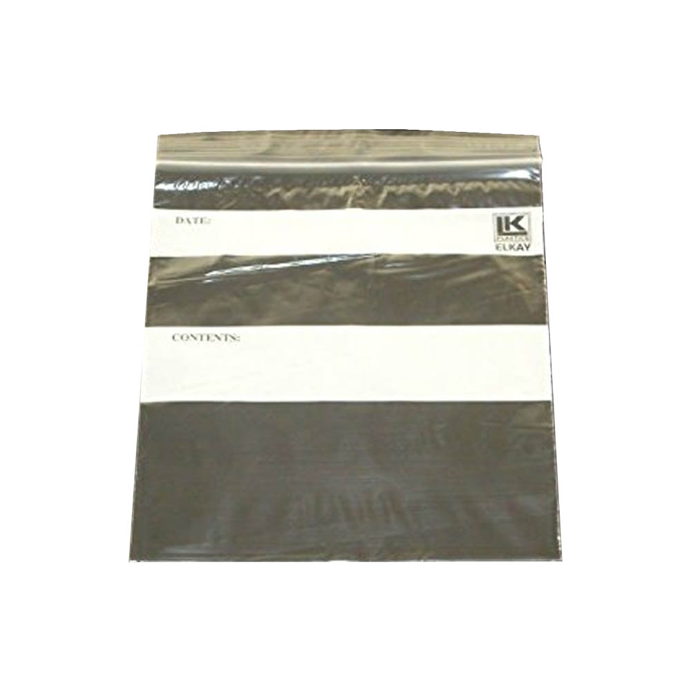 "Elkay Plastics Clear 7""x8"" Quart Re-Closable Bag F20708Q"