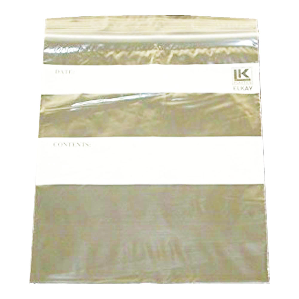 "Elkay Plastics Clear 10""x12"" Gallon Re-Closable Bag F21012G"