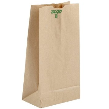 Duro Bag Kraft 8lb Husky Grocery Bag 29808