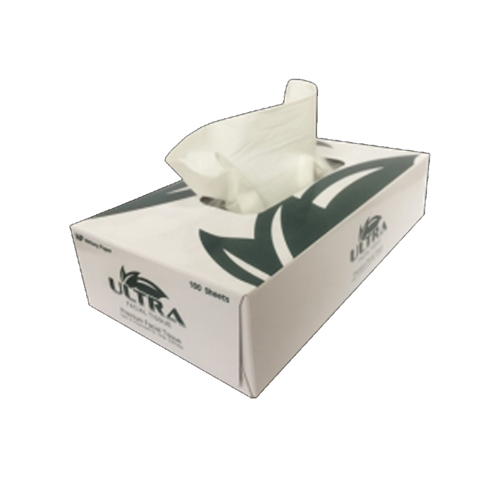 Nittany Paper White 2 Ply Facial Tissue Box NP-5701