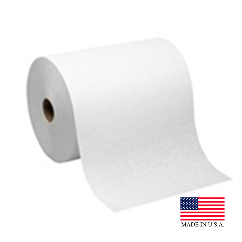 "Georgia Pacific White 10""x800' Enmotion High Capacity EPA Roll Towel 89470"