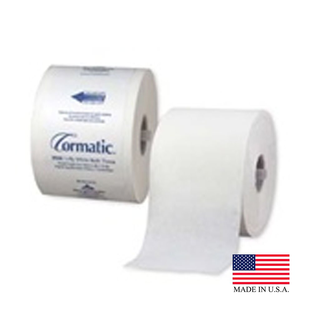 Georgia Pacific White 1ply Cormatic High Capacity Bathroom Tissue 2500