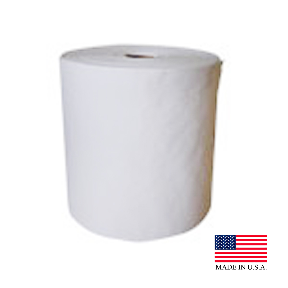 "Nittany Paper White 6""x600' Center Pull Towel NP-6600-9"