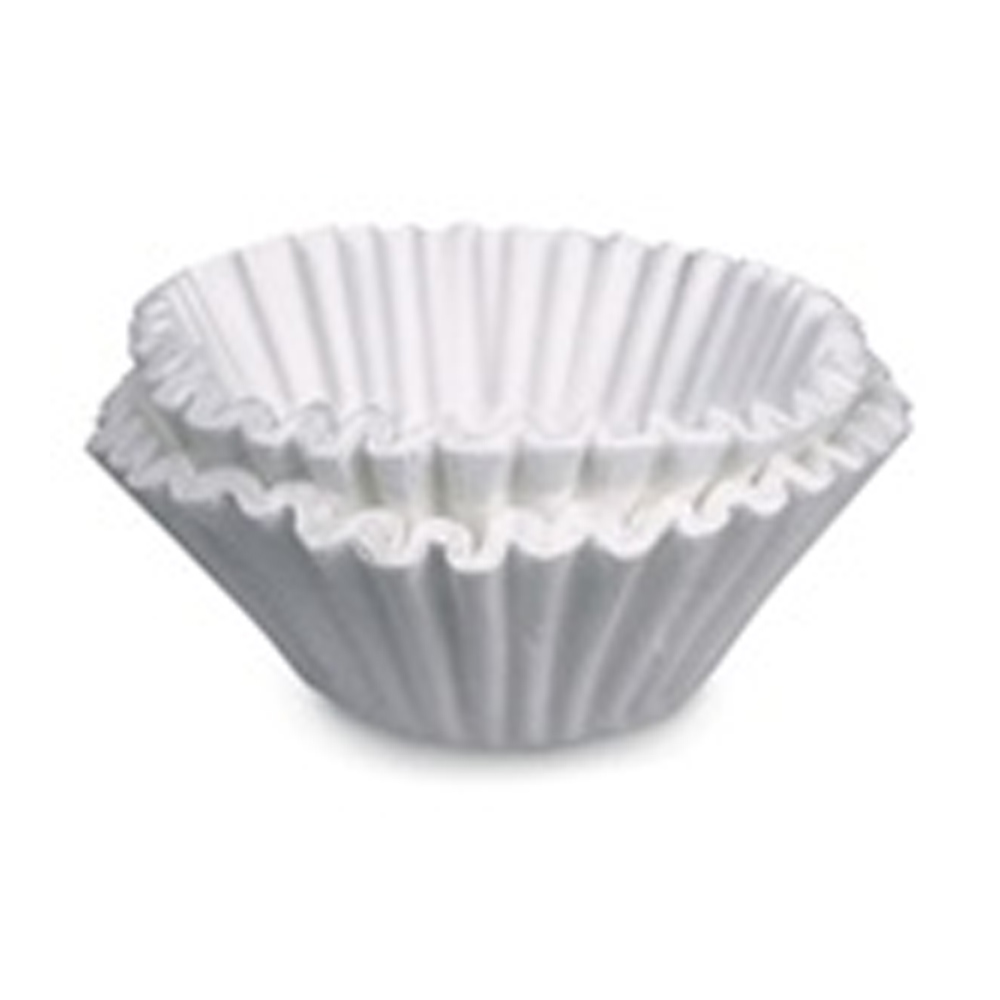 White 8-10 Cup Brew Rite Coffee Filter 48101
