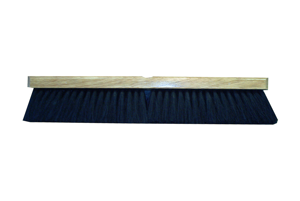 "Culicover & Shapiro Black 18"" Floor Push Broom 105-18/100-18"