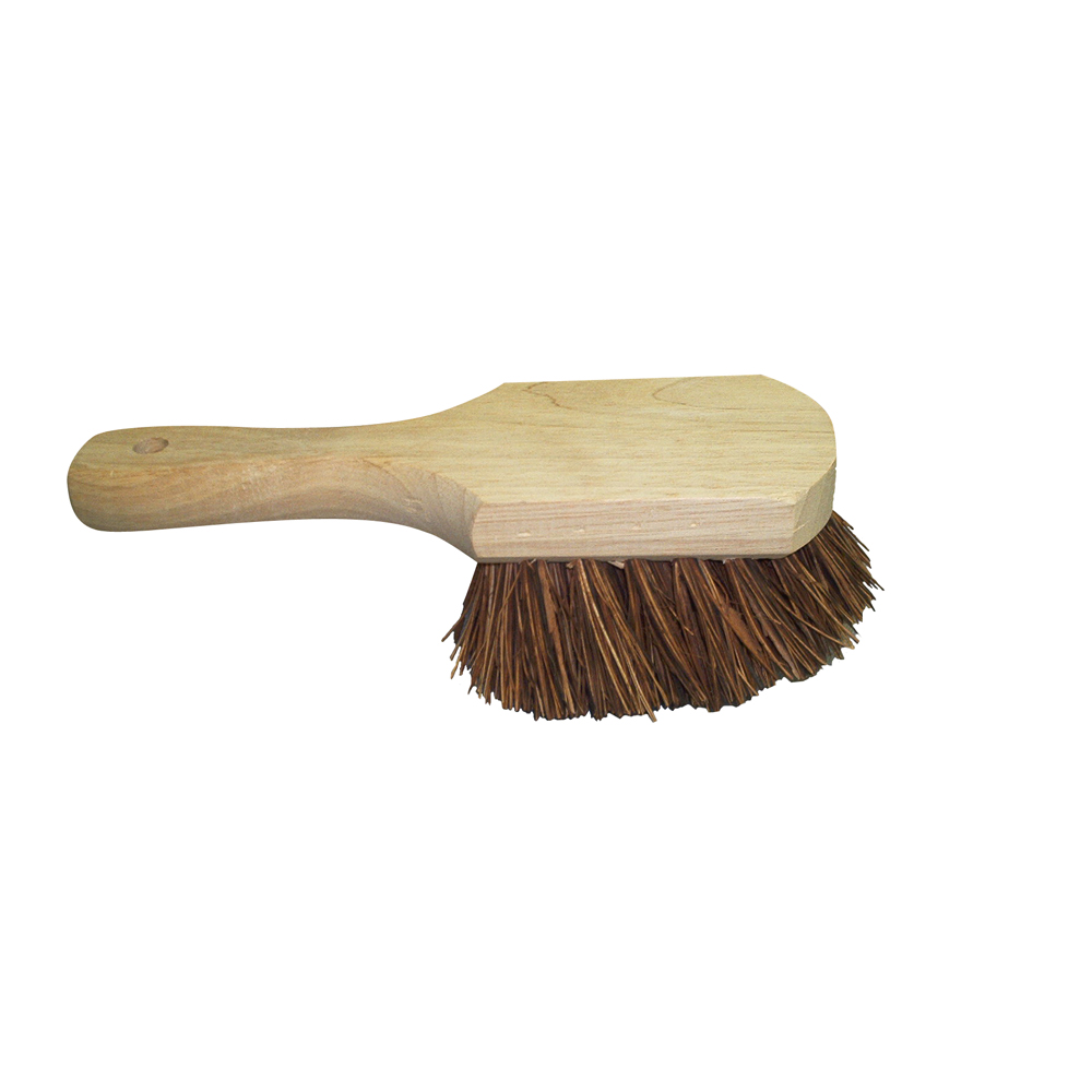 Culicover & Shapiro Brown Short Handle Pot Brush 570