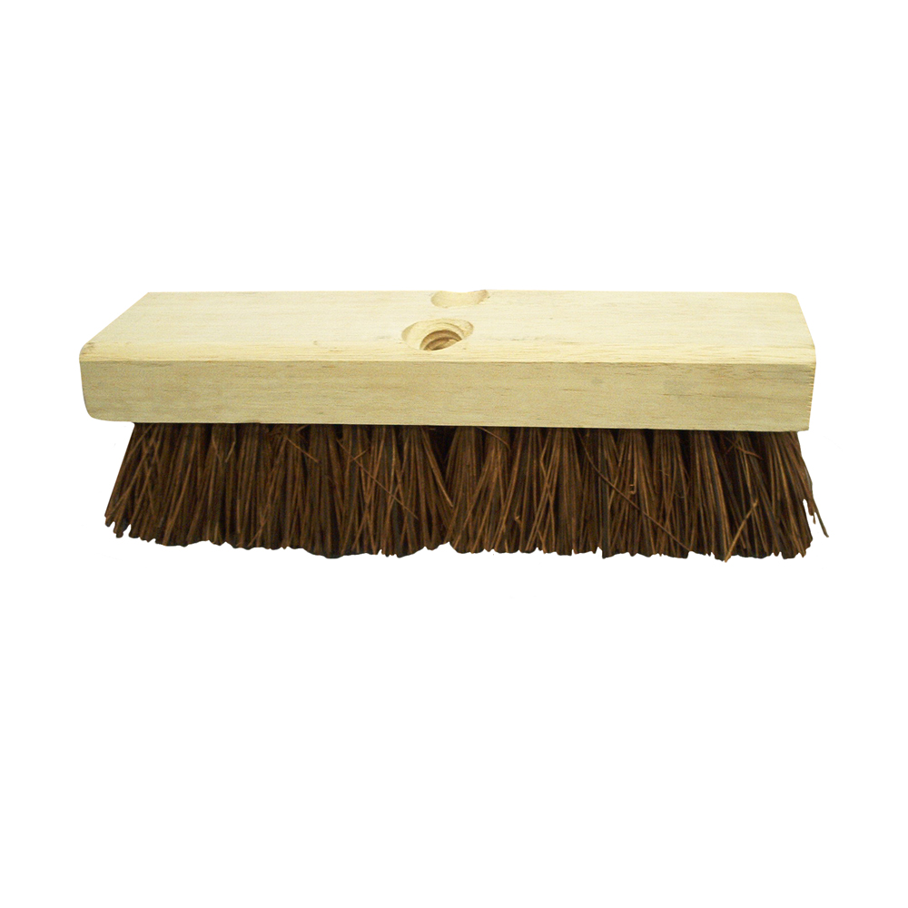 "Culicover & Shapiro Brown 10"" Deck Brush 601"