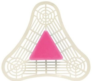 Earth Friendly Pink Urinal Triangle Spice Scent PL2625/12