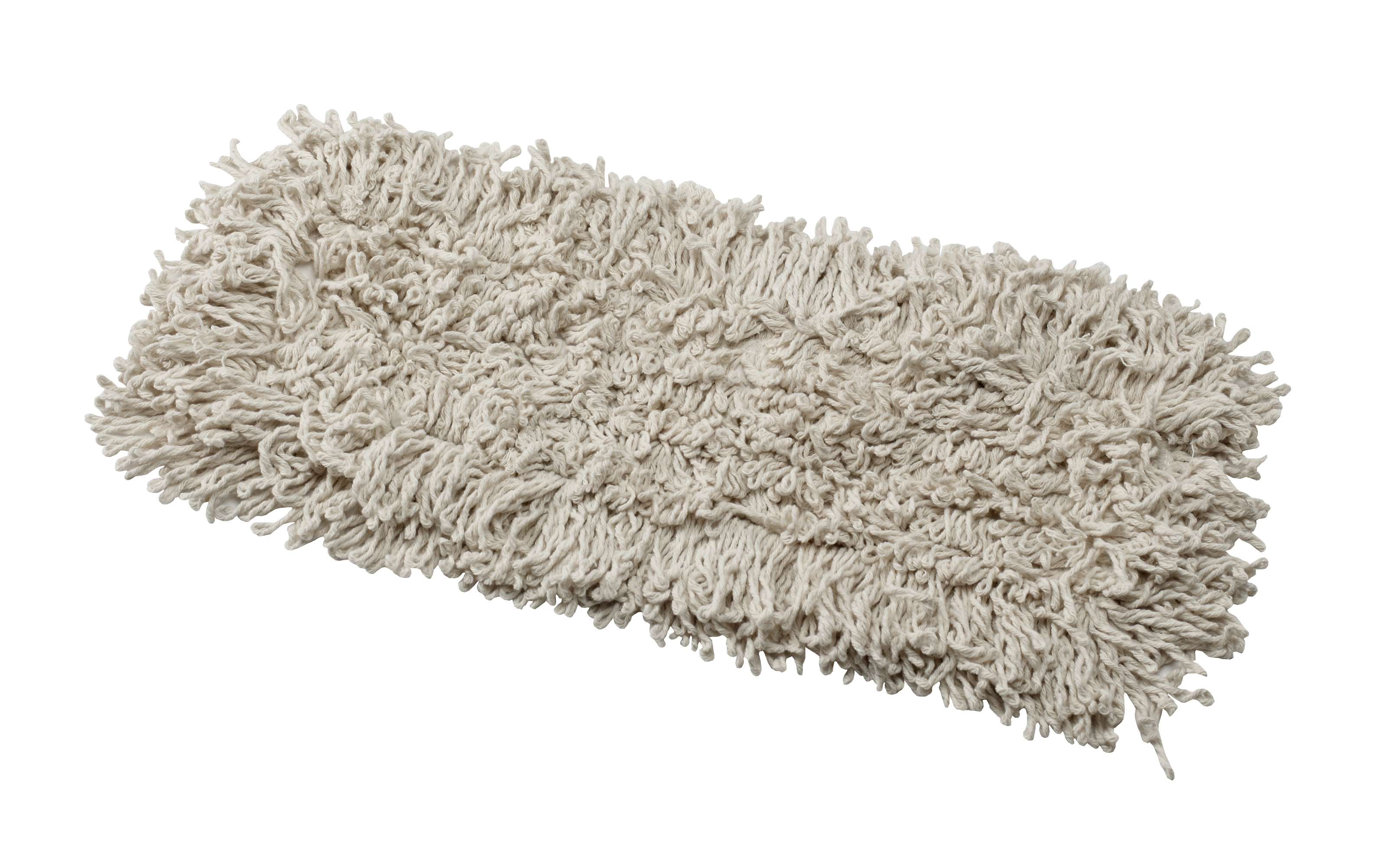 "Janico White 5""x24"" Disposable Loop End Dust Mop 3524"