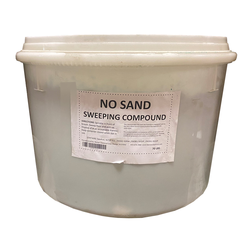 S&S Soap Green 40lb Sweeping Compound GNS-70D