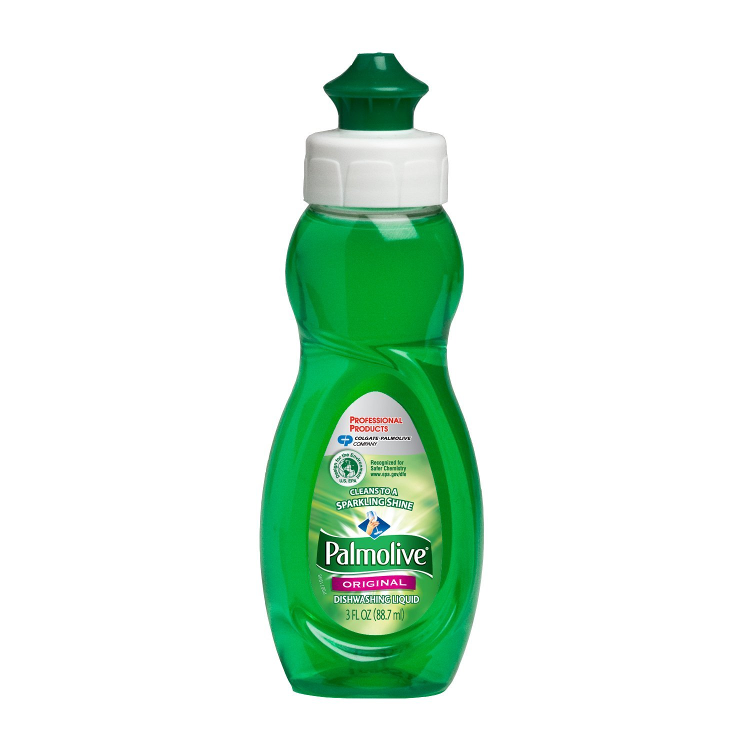 Colgate/Palmolive Green 3oz Palmolive Liquid      Manual Dishwashing Liquid 01417