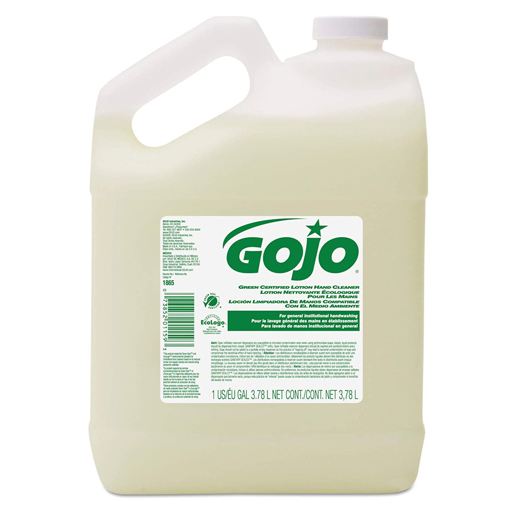 Gojo White 1 gallon Green Certified Lotion Hand Cleaner 1865-04