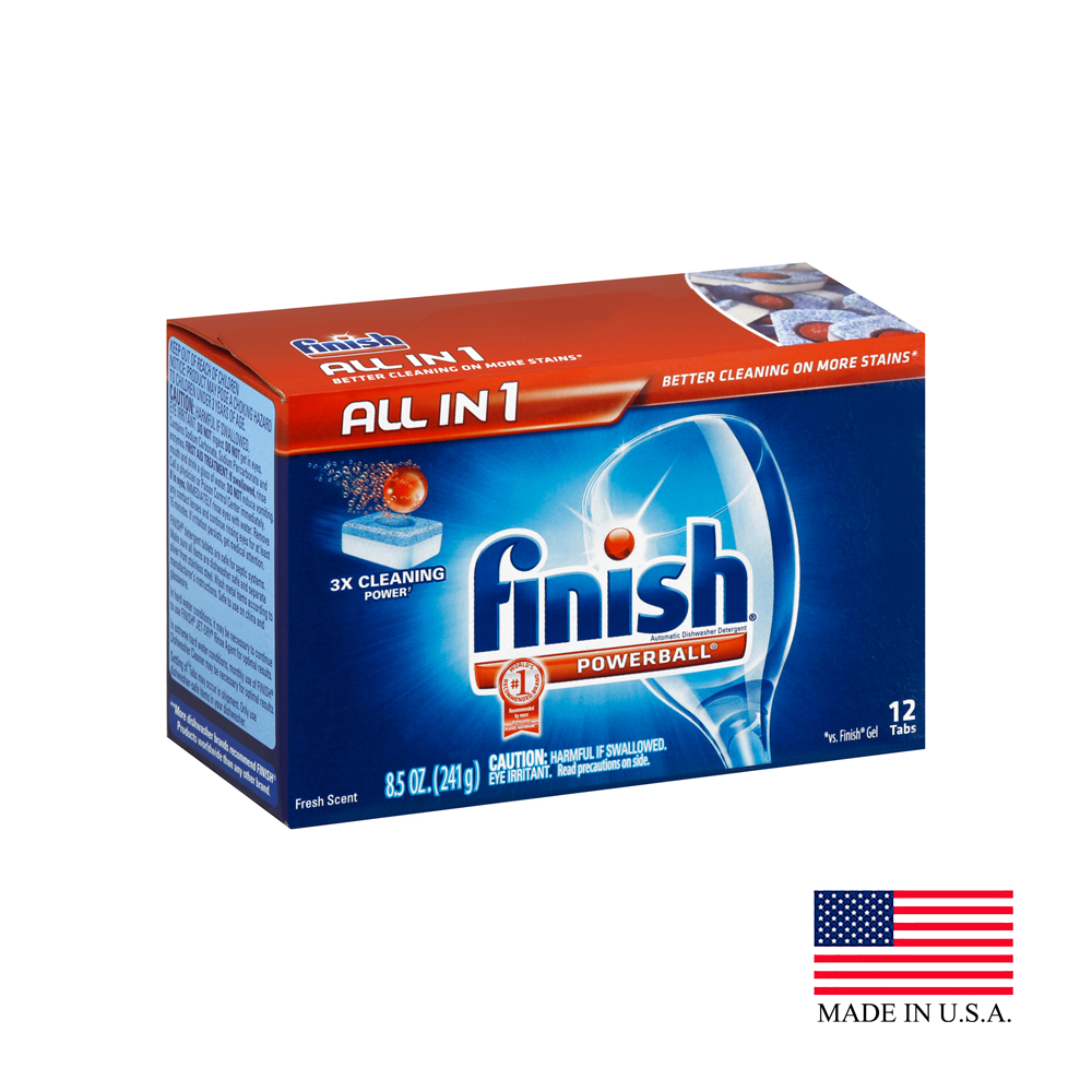 Reckitt Benckiser 8.5oz Finish Fresh Scent Automatic Dishwashing Detergent Tab 82587