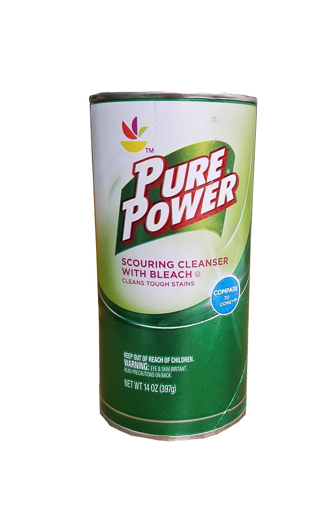Pure Power 14oz Scrubbing Cleanser With Bleach    7750PURE POWER