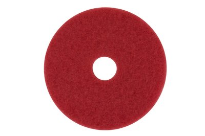 "3m Products Red 14"" Buffing Pad 5100"