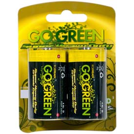 Perf Power 2pk Size D Batteries 21004