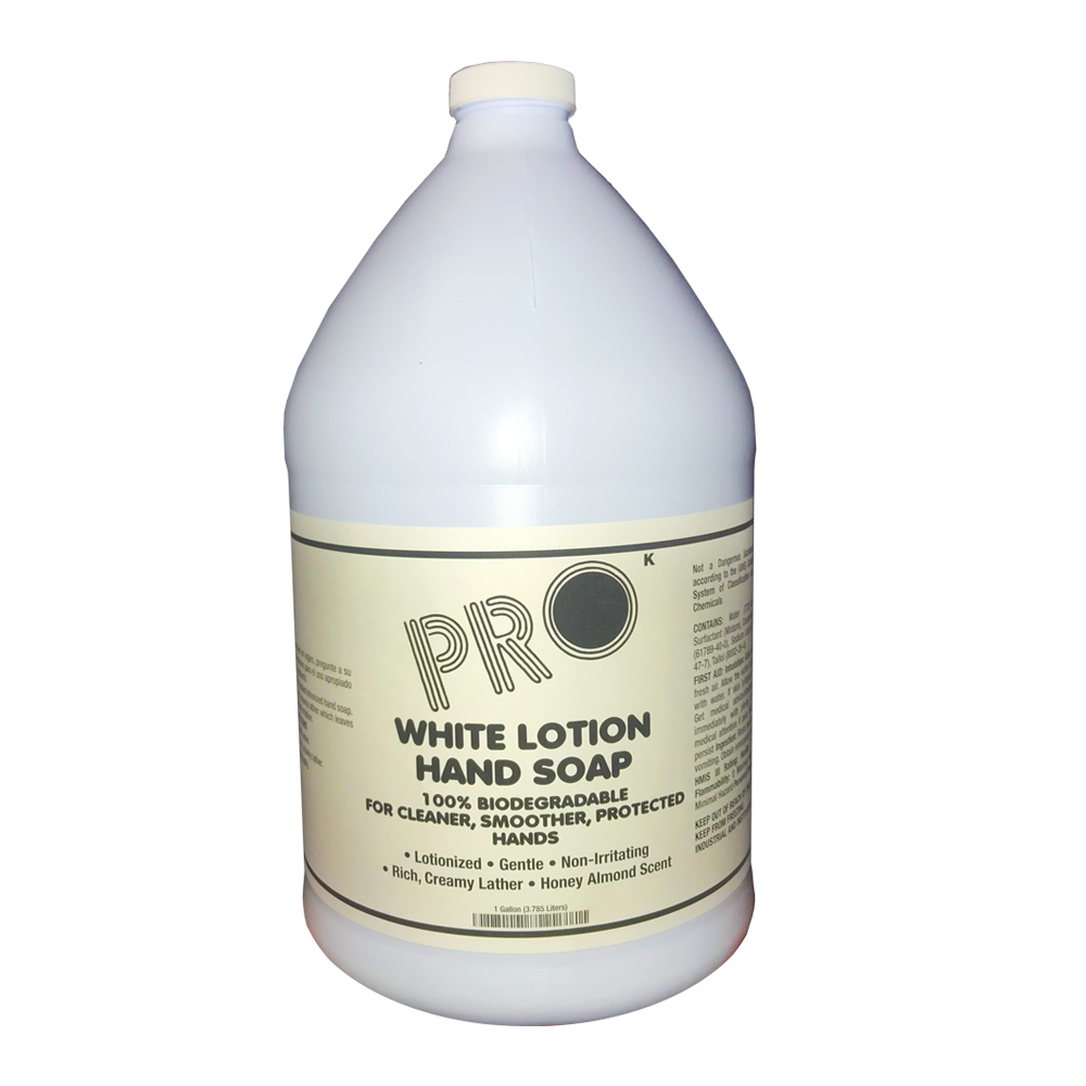 ProKleen 1 gallon Pearly White Deluxe Pro Lotion Hand Soap 9109HF