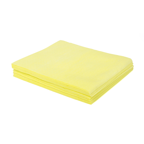 "Hospital Specialty Yellow 24""x24"" Treat Dust Cloth N-DSMFPY2-DS-M"