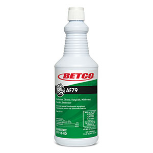 Betco 1qt AF79 Concentrate Acid Free Bathroom Cleaner 0791200
