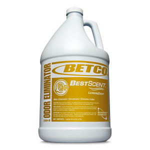 Betco 1 Gallon Best Scent - Lemon Fresh Air Freshener 2260400