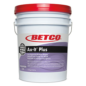 Betco 5 gallon Pail Ax-It Plus Floor Stripper 1540500