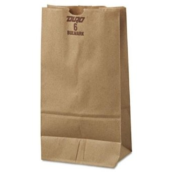 Duro Bag Kraft 6lb Elephant Heavy Duty Bag 30906