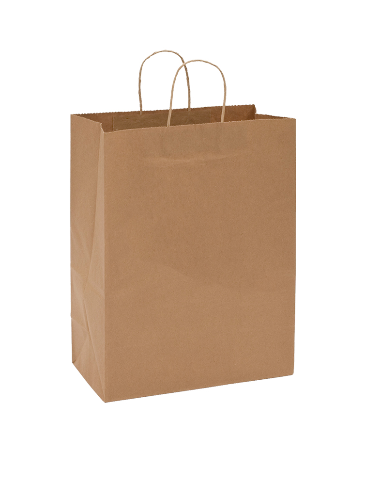 "Conco Paper Bags Kraft 13""x7""x17"" Shopping Bag    (Supermarket) Size 13177K"