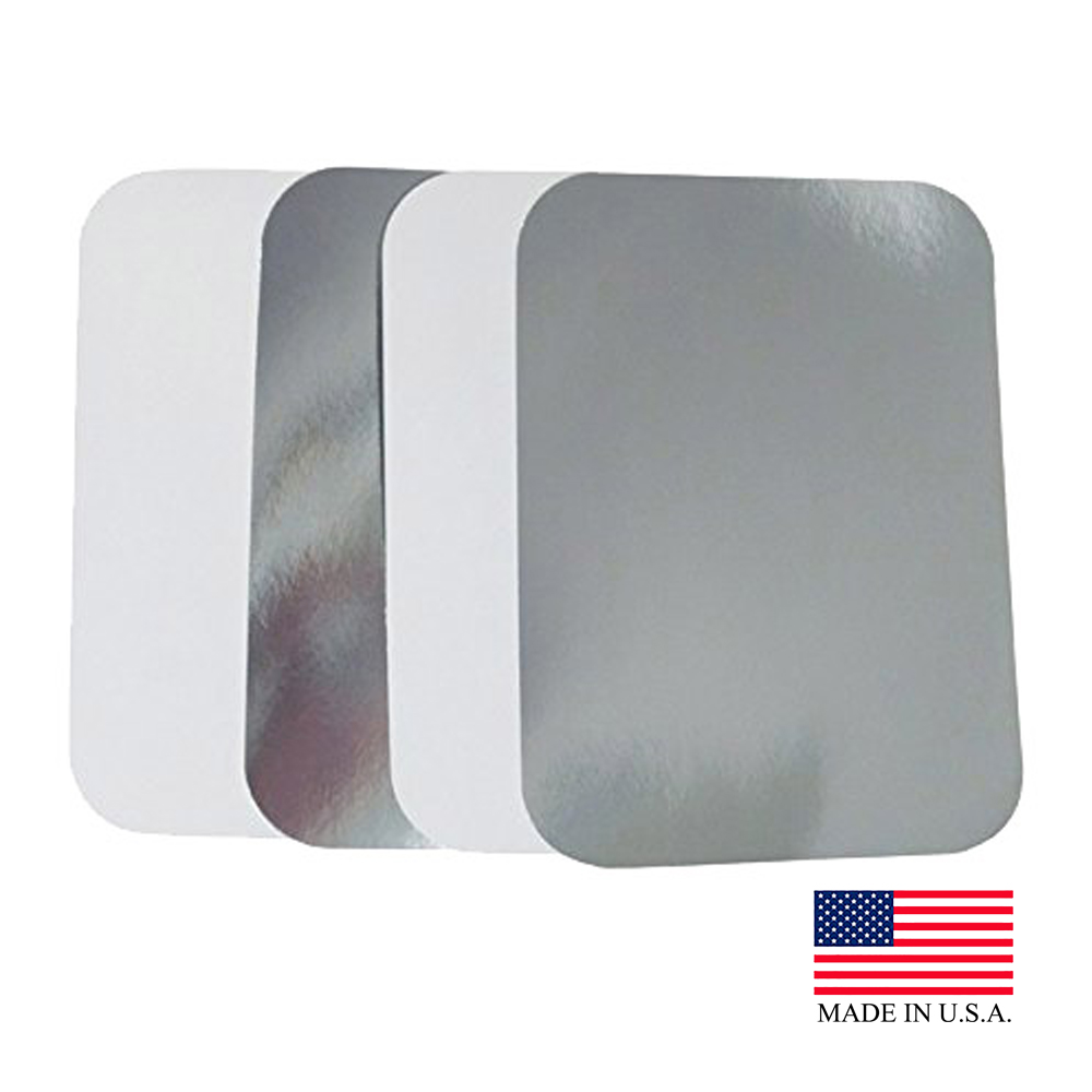 Durable Foil Laminated 5lb Oblong Board Lid L255-250