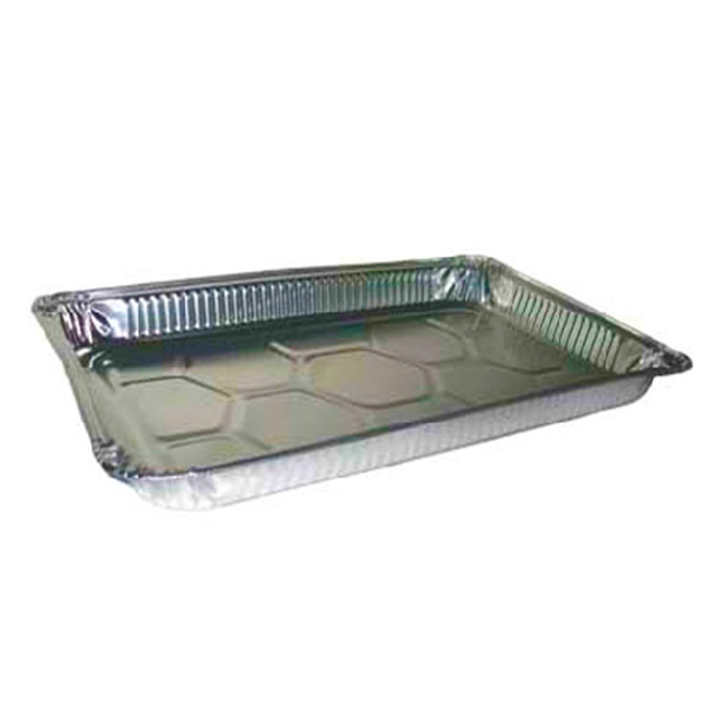Pactiv Aluminum Full Size Shallow Steam Table Pan Y6110XH