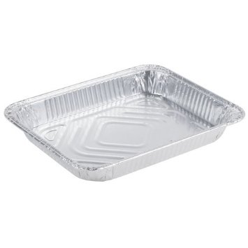 Easy Elegance Aluminum Half Size Shallow Steam Table Pan 7012