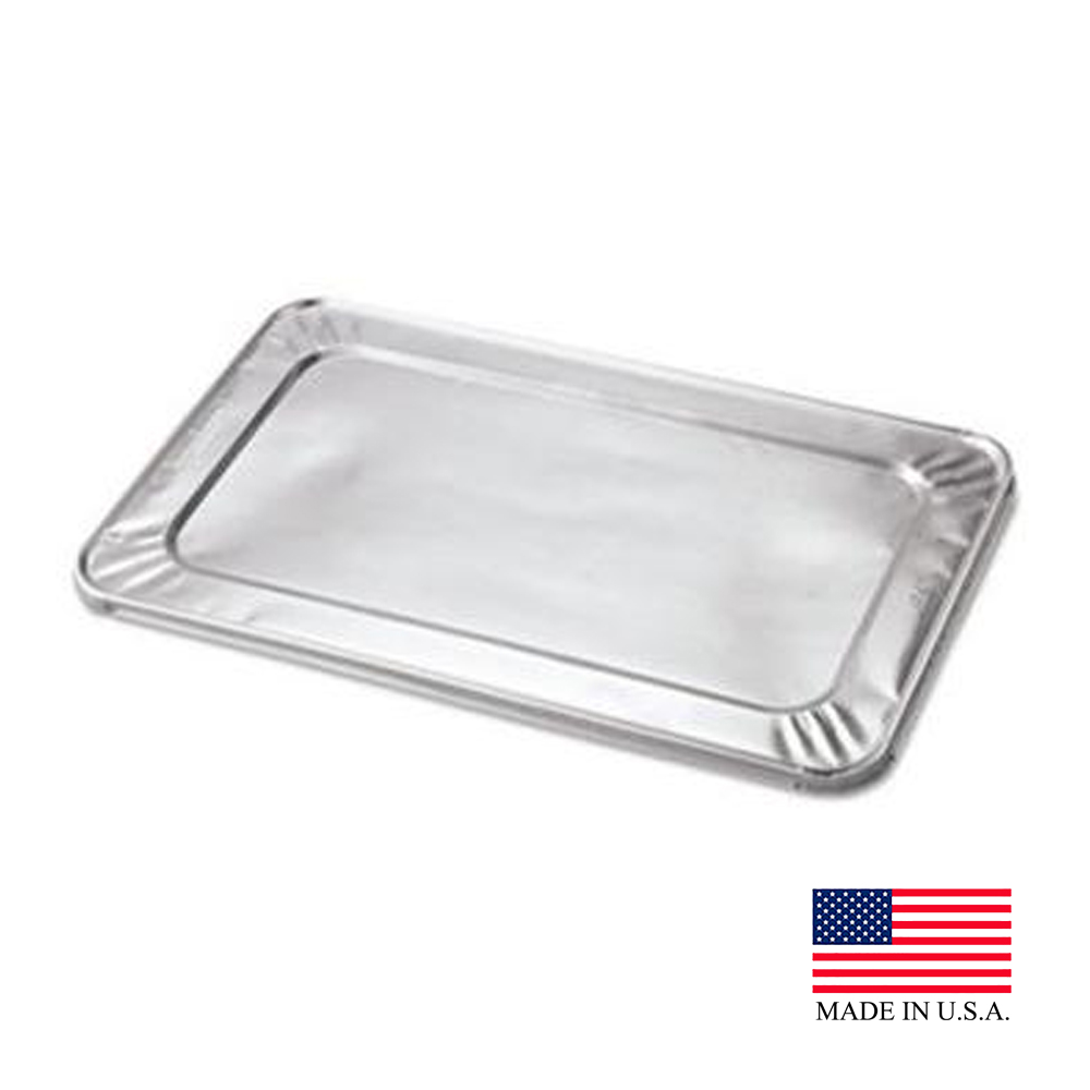 Durable Aluminum 1/3 Size Foil Steam Table Pan Lid 8500-100