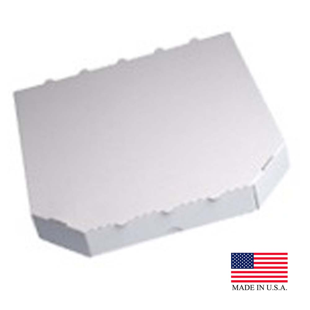 "Die Cut Prod White 18""x18""x2"" Corrugated Pizza Box18X18X2"