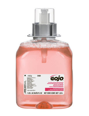 Gojo Pink 1250ml Luxury Foam Hand Wash Fmx-12 Refill 5161-03
