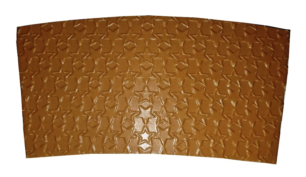American Warehouse Kraft Star Coffee Clutch Sleeve CSSBL-STAR