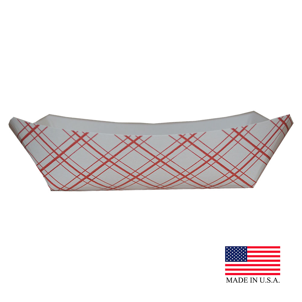 Specialty Quality Plaid #25 Food Tray 8125