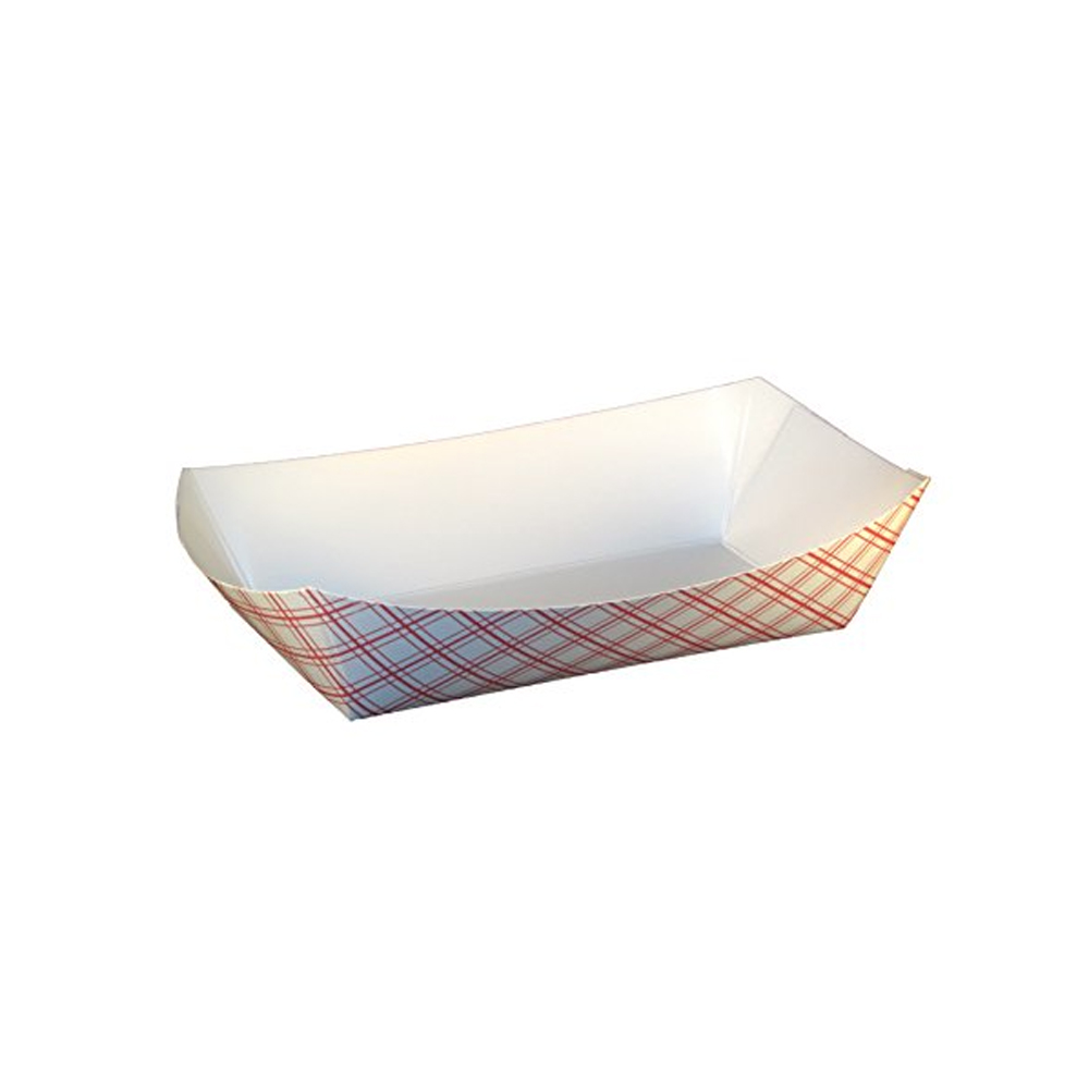 Specialty Quality Plaid #500 Food Tray 8705