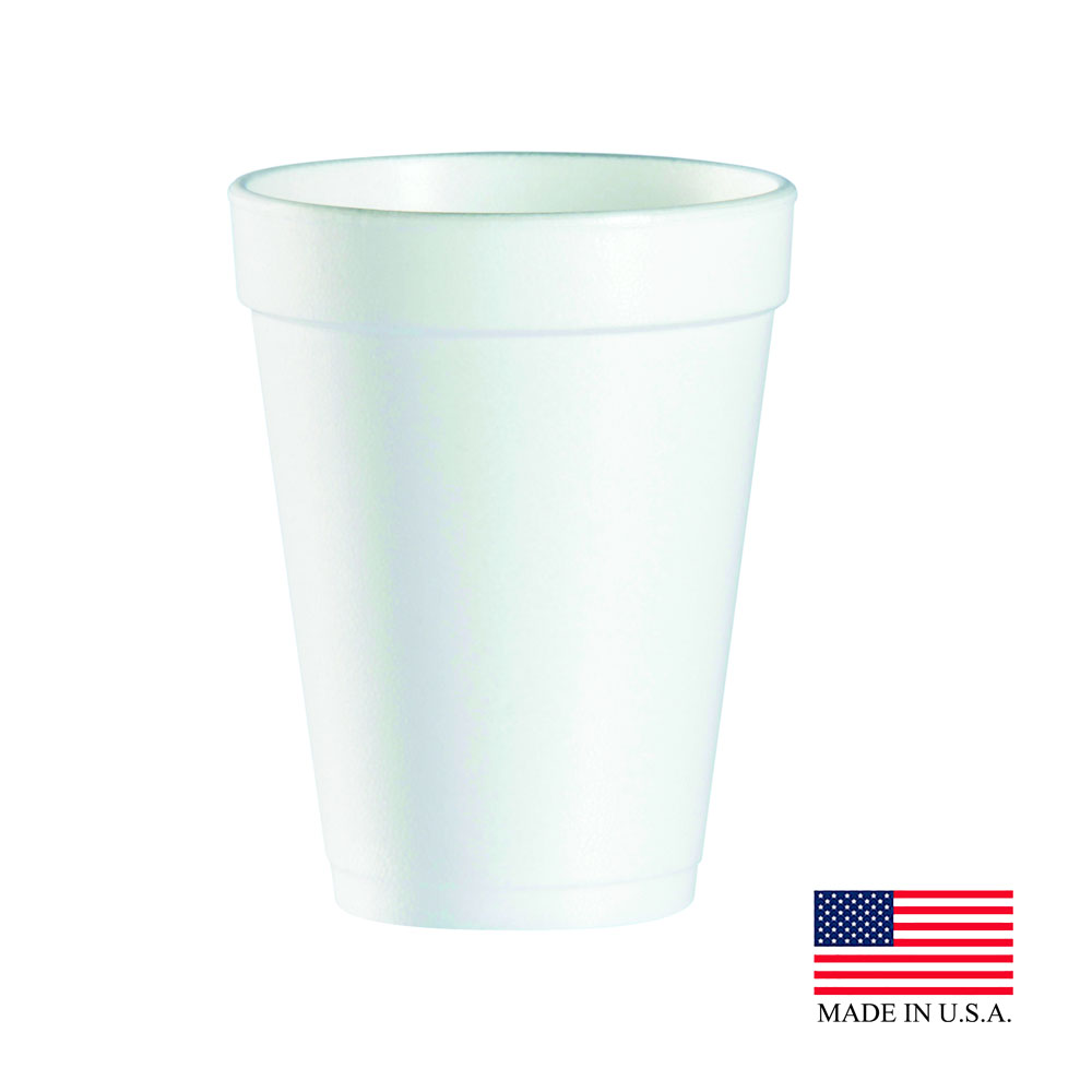Dart White 14/16oz Foam Cup 14J16