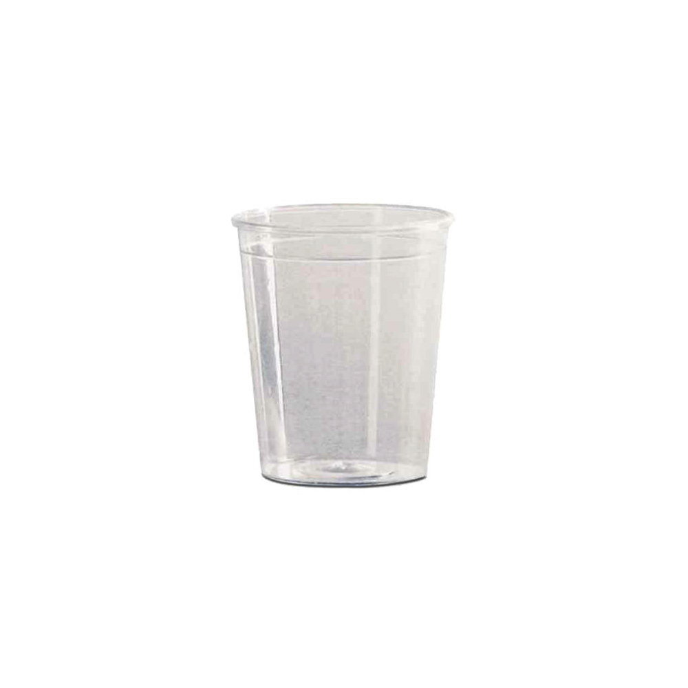 Comet Clear 2oz Plastic Shot Glass P20