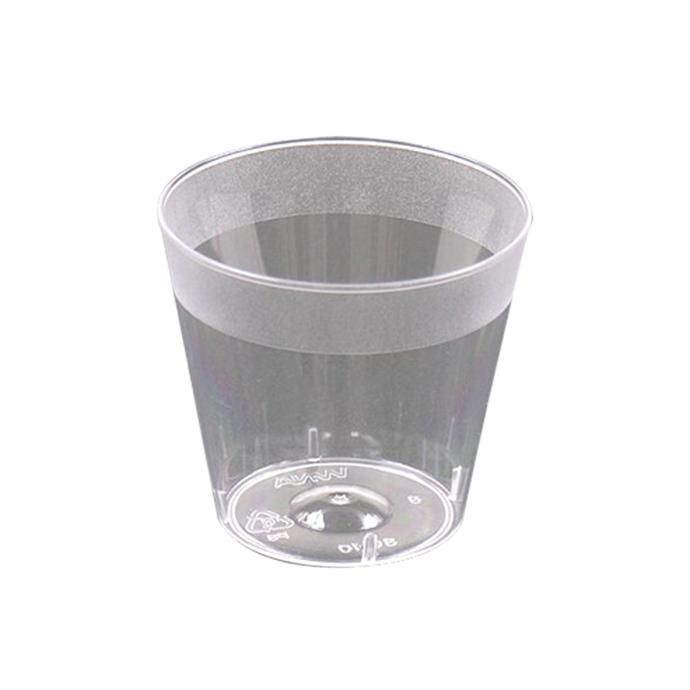 Comet Clear 1oz Plastic Shot Glass SG10