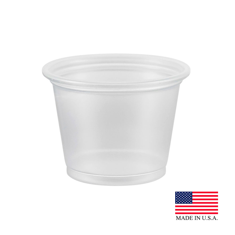 Dart Clear 1oz Souffle Portion Cup 100PC
