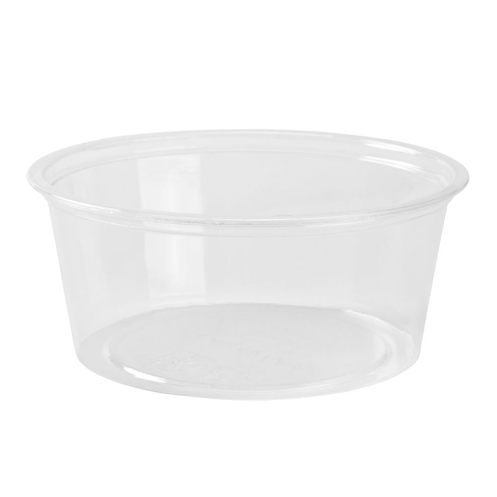 Fabrikal Clear 3.25oz Green Ware Souffle Portion Cup GPC325/9509304