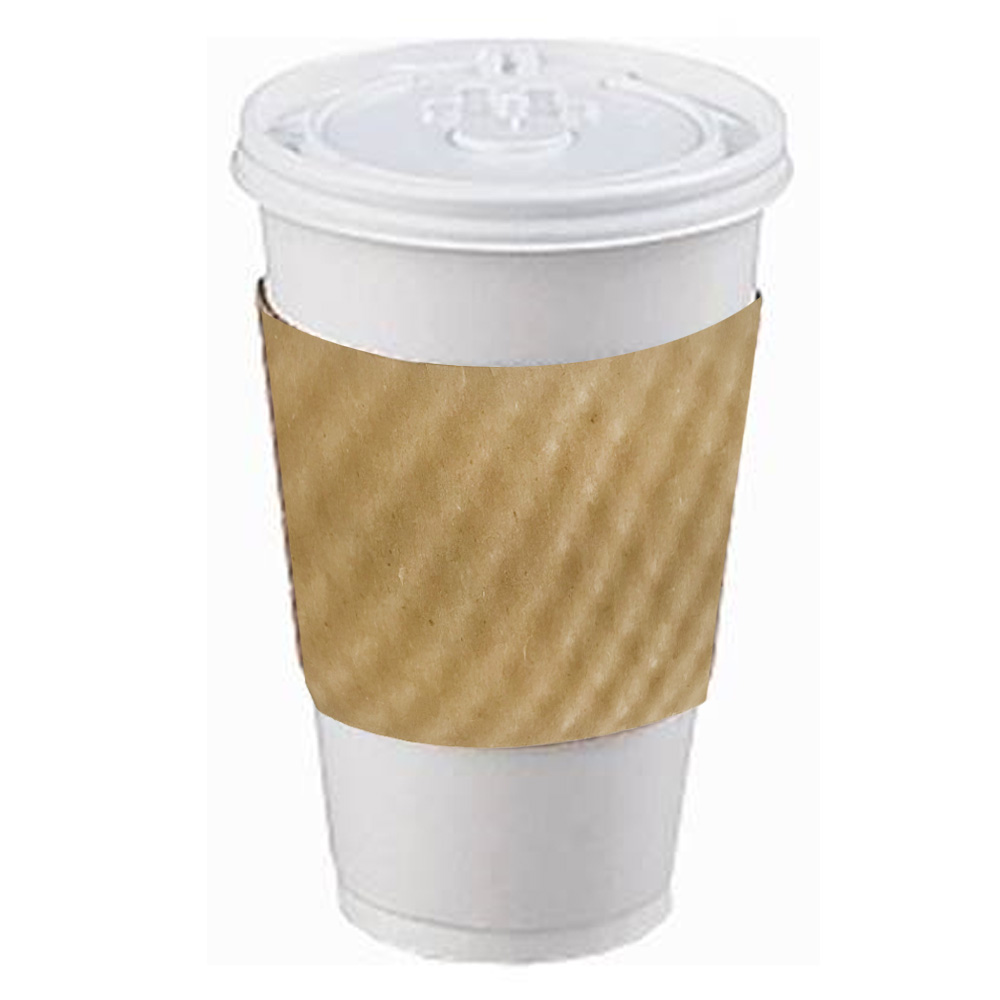 Levin Brothers Kraft 10-20oz Coffee Sleeve        6000/65000