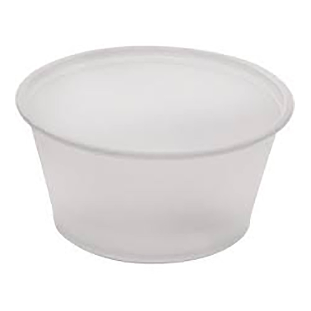 Fabrikal Translucent 2oz Souffle Portion Cup PC200/9505195