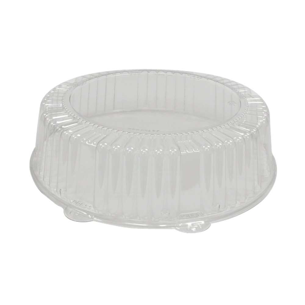 "Comet Clear 14"" Round Pet Dome Lid A14PETDM"