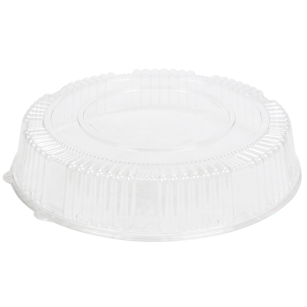 "Comet Clear 16"" Round Pet Dome Lid A16PETDM"