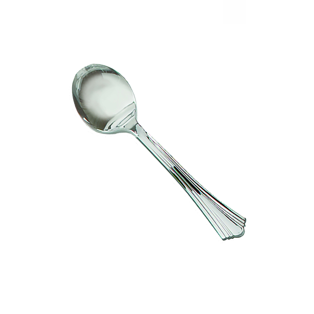 "Comet Silver 5.75"" Reflections Soup Spoon 640155-40"