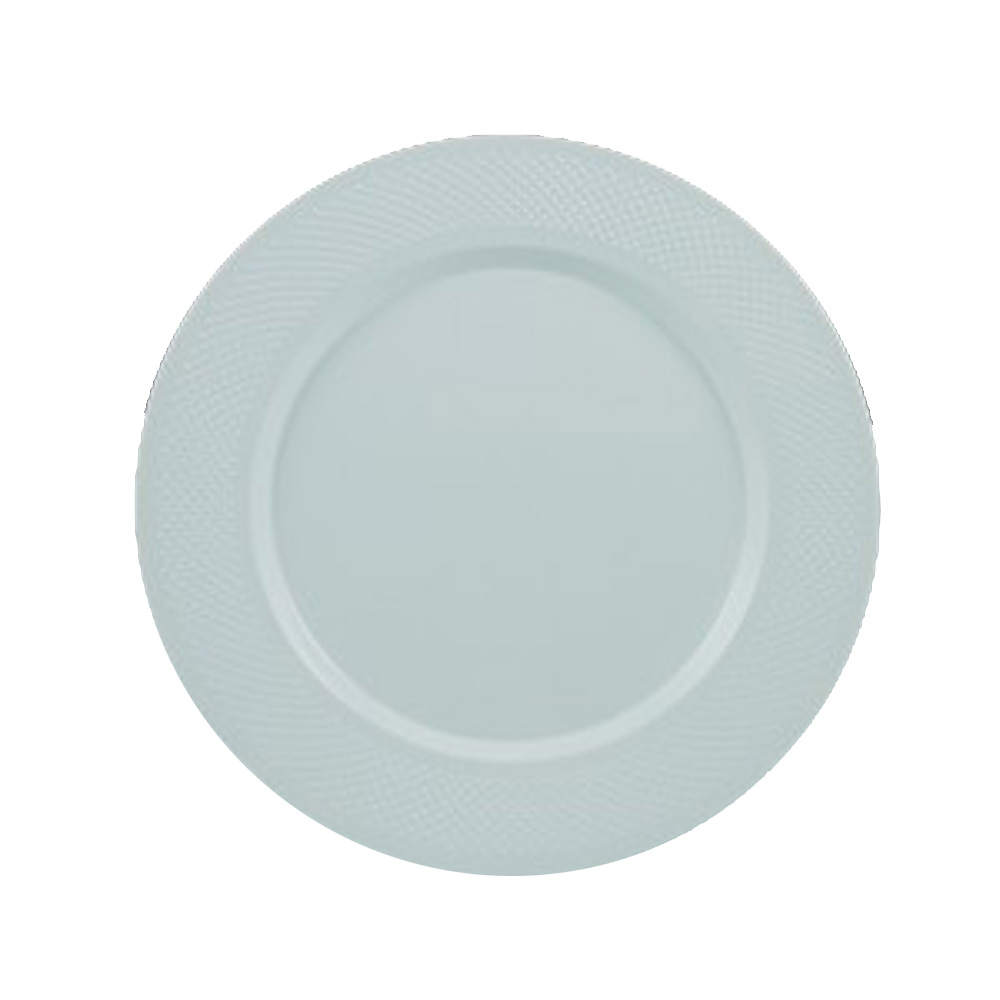 "Maryland Plastics White 9"" White Lunch Plate      CC19000"