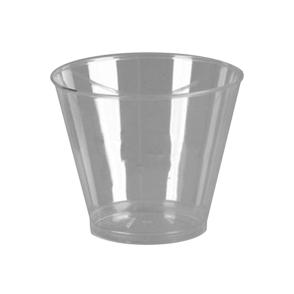 Comet Clear 9oz Squat Tumbler T9S